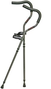 5. Millennial Medical in-Motion Pro Ergonomic Foldable Crutches