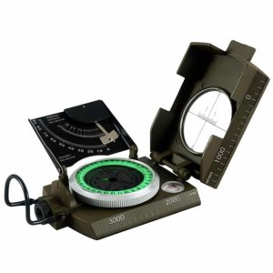 6. Eyeskey Waterproof Multifunctional Military Compass