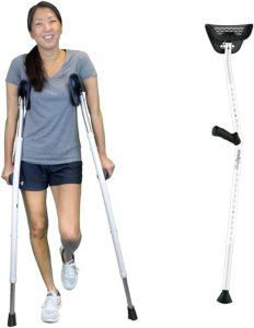 6. MOBI Mobilegs Ultra Crutches